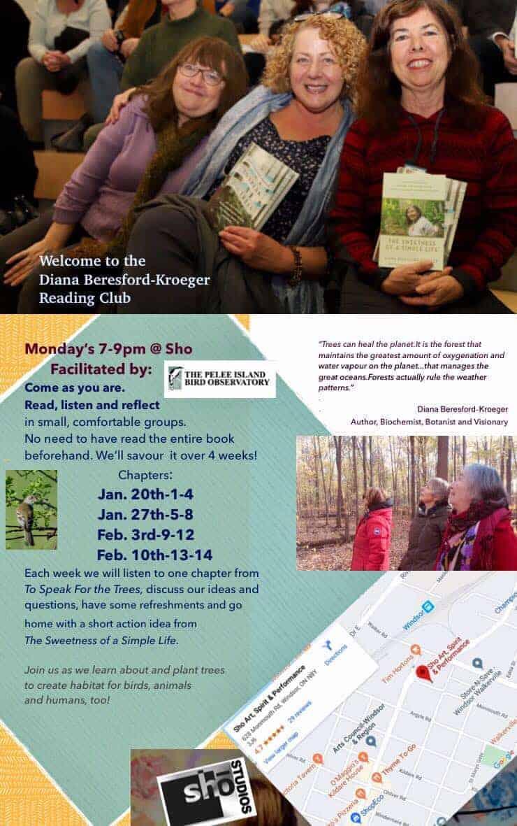 Diana Beresford-Kroeger Reading Group