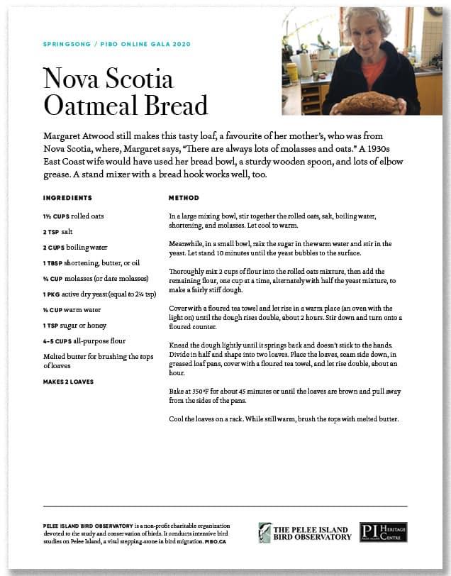 Nova Scotia Oatmeal Bread