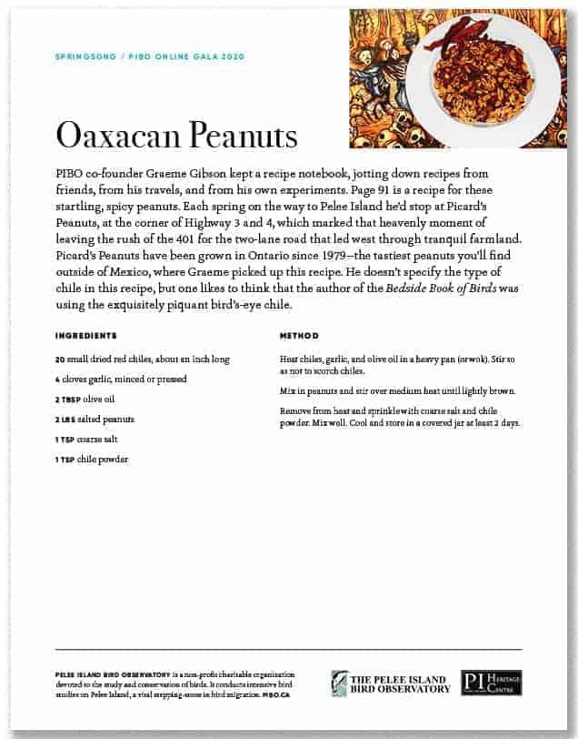 Oaxacan Peanuts
