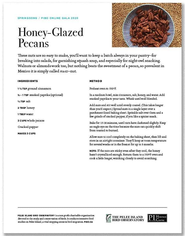 Honey-Glazed Pecans