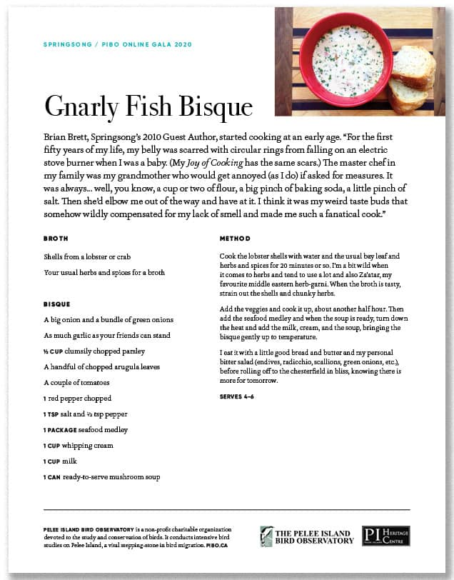 Gnarly Fish Bisque