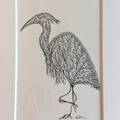 Heron by Andrea Currie