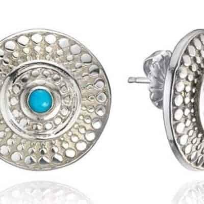 Firoza Earrings by Parul Shrivastava