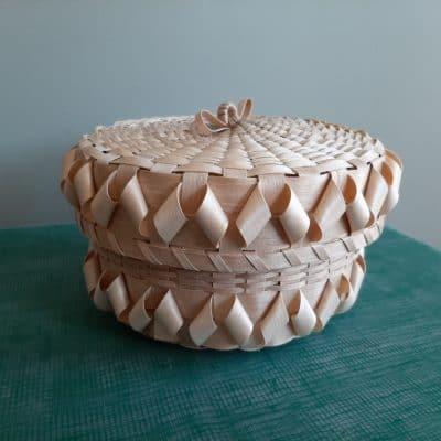Mi'kmaw Basket