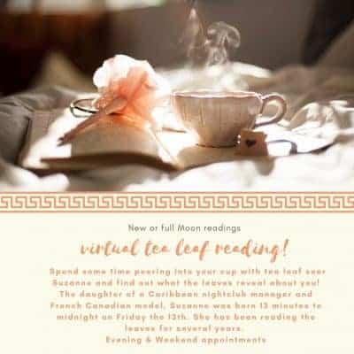 Online tea leaf reading