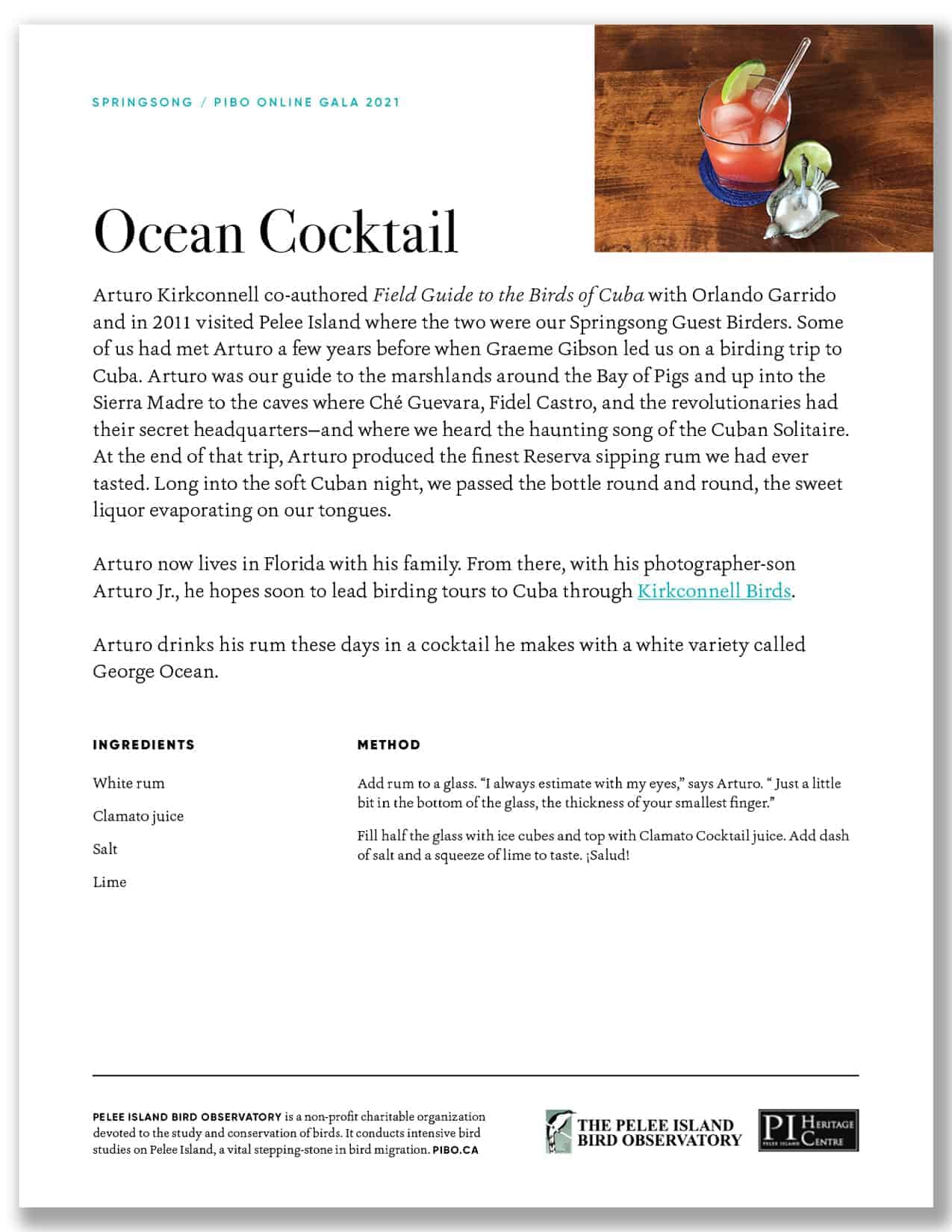 Ocean Cocktail