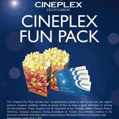 Cineplex Fun Pack