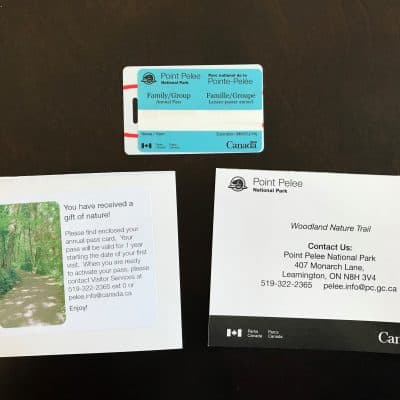 Point Pelee National Park Annual Pass